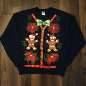 Gildan Christmas Sweatshirt Size M